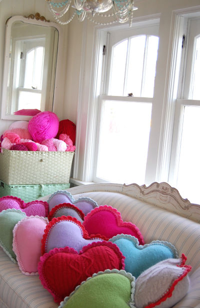 Heart pillows 1 172
