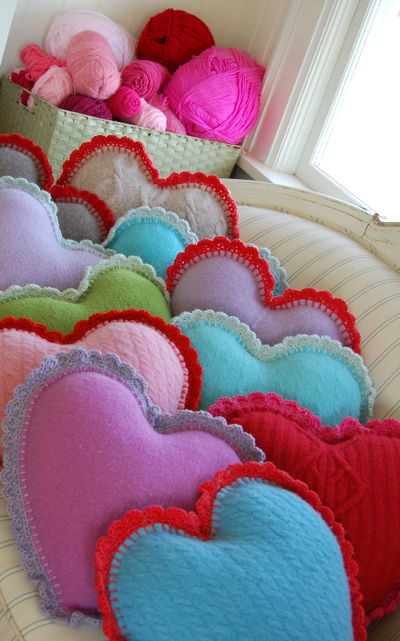 Heart pillows 2 103