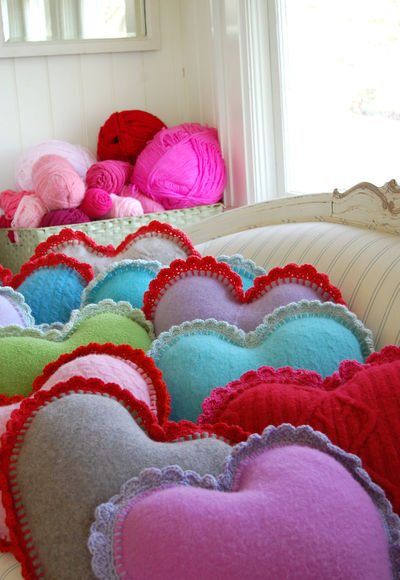Heart pillows 2 111