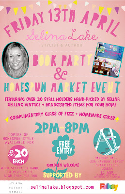 Homespun Book Party & Market Event Flyer-Invite